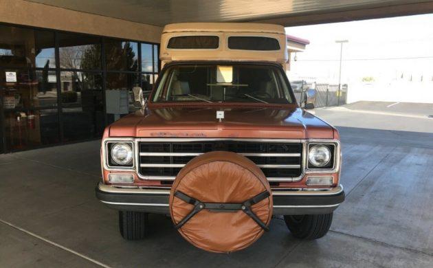 Factory-Built Camper: 1977 Chevrolet Blazer Chalet