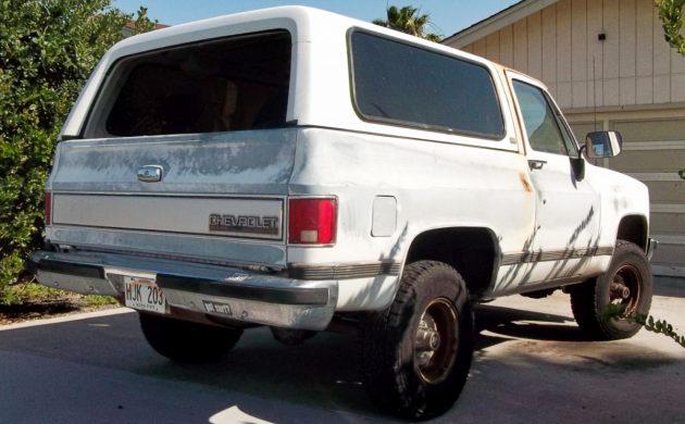 EXCLUSIVE: 1990 Chevrolet Blazer 4-Speed Silverado
