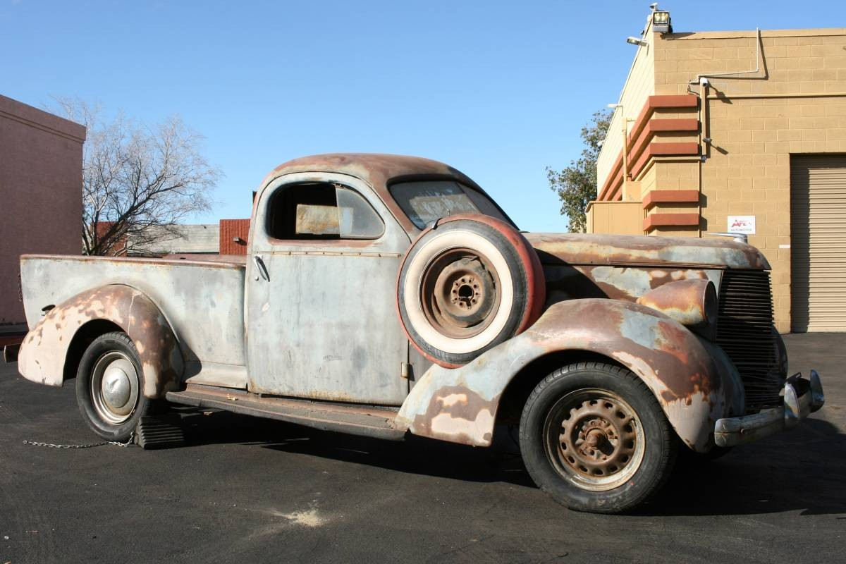 Rock Solid Style 1938 Studebaker Coupe Express