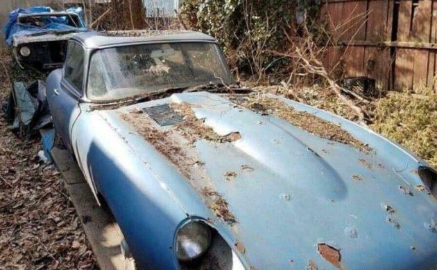 Yard Find 1966 Jaguar E Type
