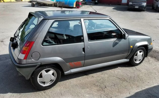 Muscular Le Car: 1990 Renault 5 GT Turbo