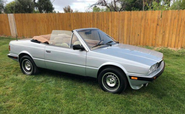 Sweet Spyder: 1987 Maserati Biturbo