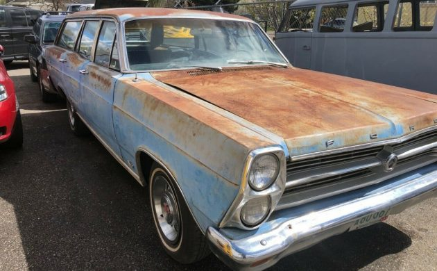 Strong 390: 1966 Ford Fairlane 500 Station Wagon