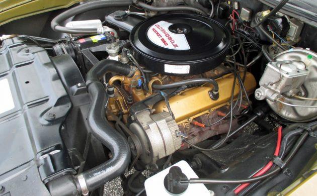 Shiny Gold 1972 Oldsmobile Cutlass Supreme Convertible