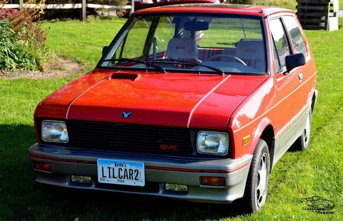 Sport Model! 1988 Yugo GVX