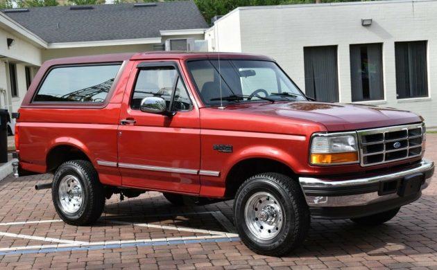 1990 ford bronco eddie bauer gas mileage