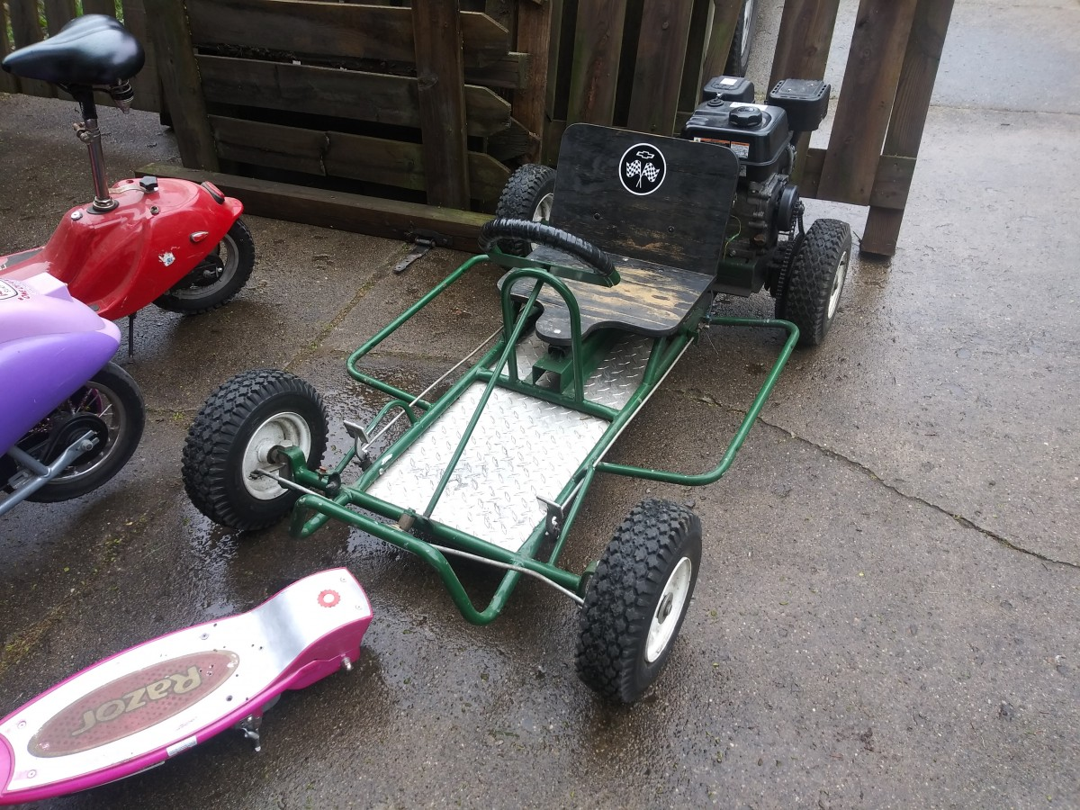 Jeff's New Project: Mini-Cars Go Kart!