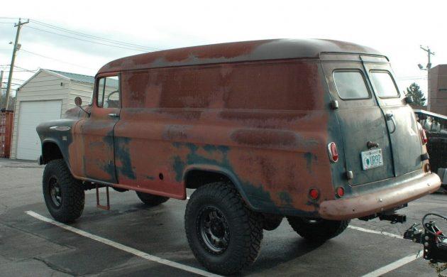 Uranium Find: 57 Chevrolet 3800 Panel NAPCO 4x4
