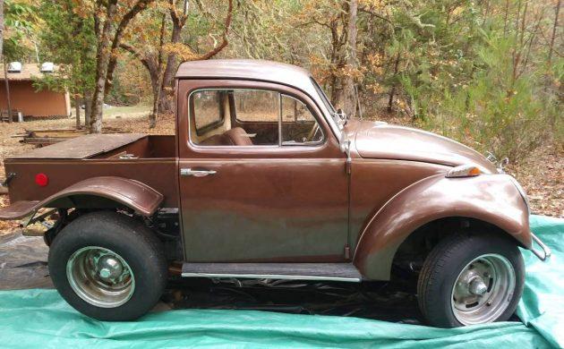 El Beetle: Custom 1962 VW Beetle Pickup