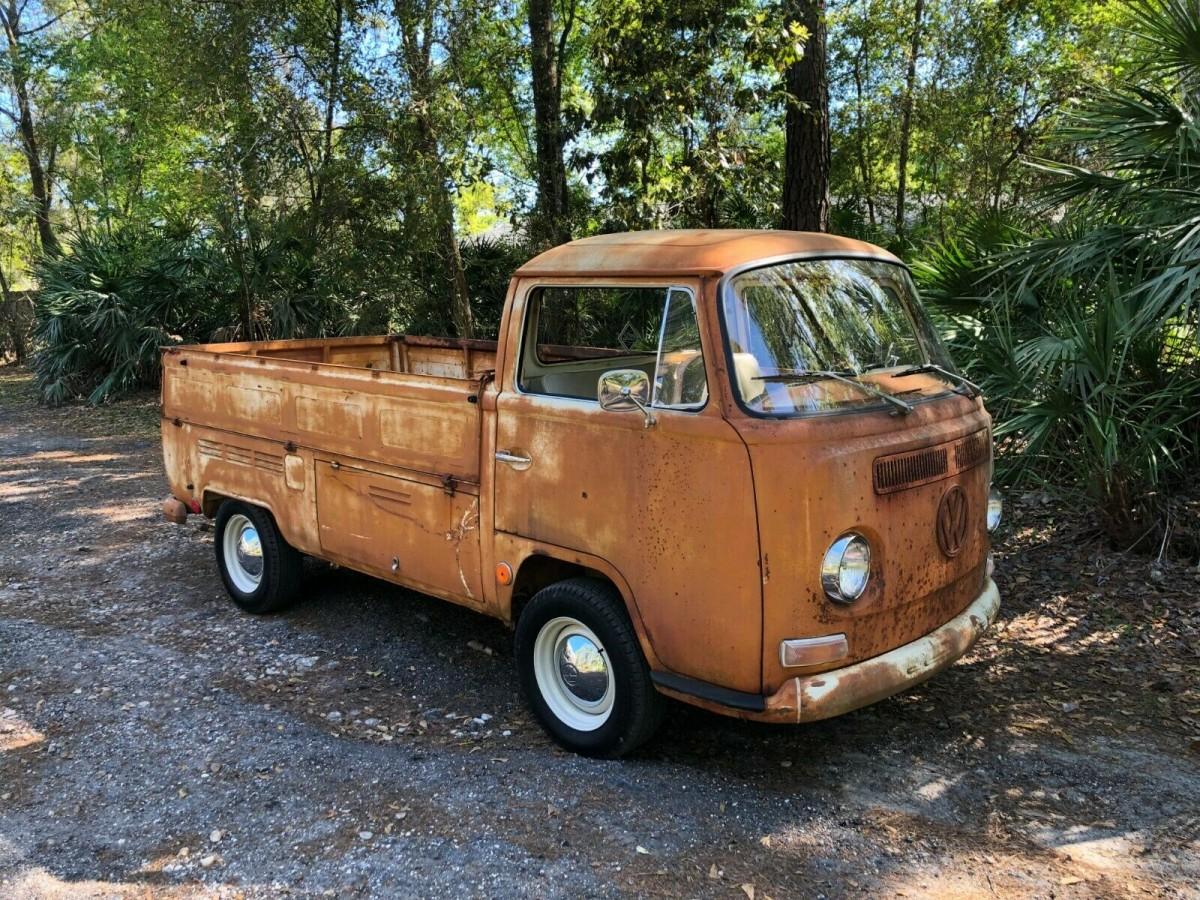 Toyota Hiace Truck >> Oklahoma Barn Find: 1969 VW Single Cab