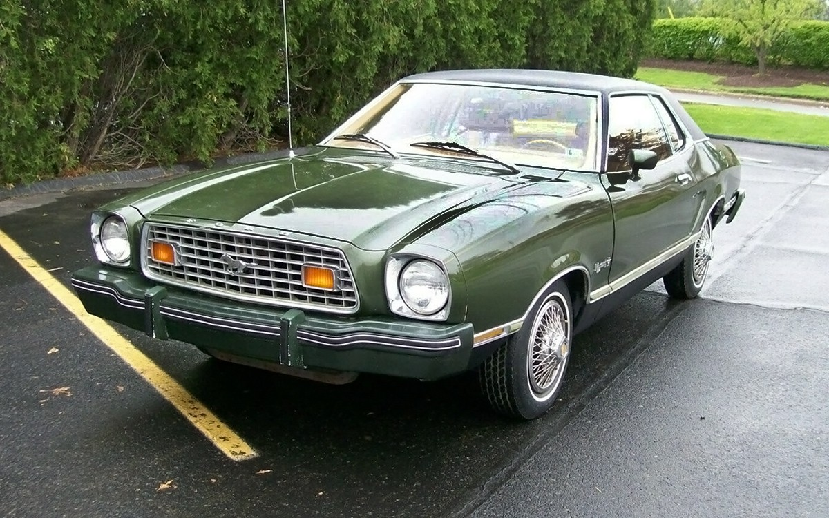 green machine  ford mustang ii mpg