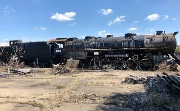 Railroad Find: 1944 Baldwin BLE 643 Locomotive
