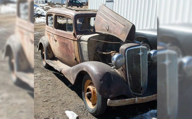 Stored Since 1971: 1934 Chevrolet Master