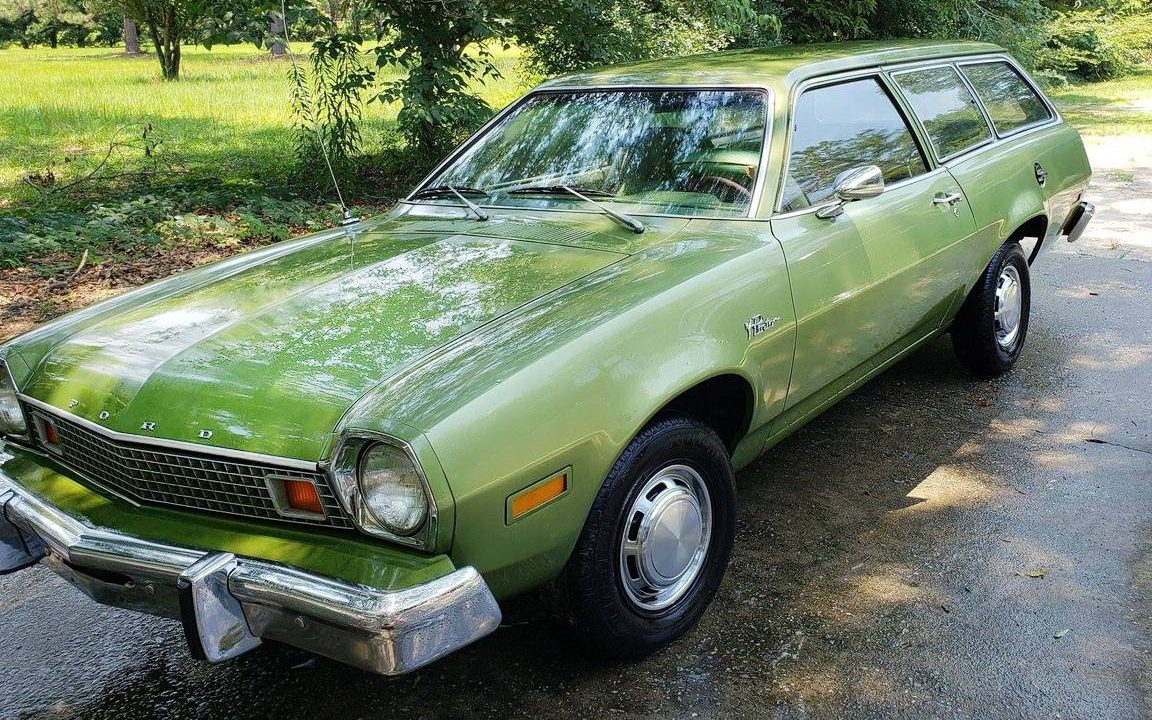 olive   home   ford pinto wagon