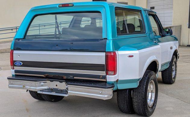 Swell Wide Load 1994 Ford Bronco Dually Inzonedesignstudio Interior Chair Design Inzonedesignstudiocom