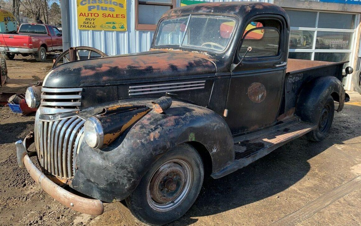 Pre-War Patina: 1941 Chevrolet Pickup