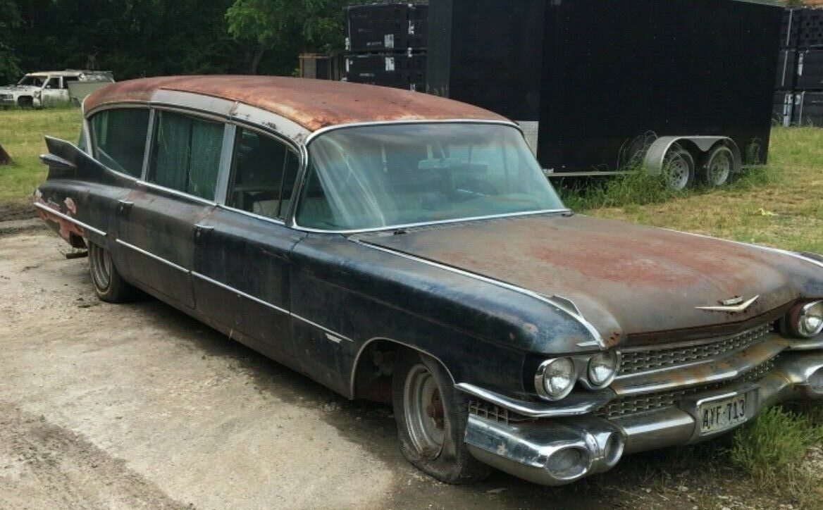 Hearse For Sale >> Detective Work Required: 1959 Cadillac Super Royale Hearse