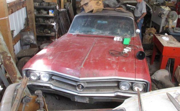 Barn Cat! 1964 Buick Wildcat Convertible