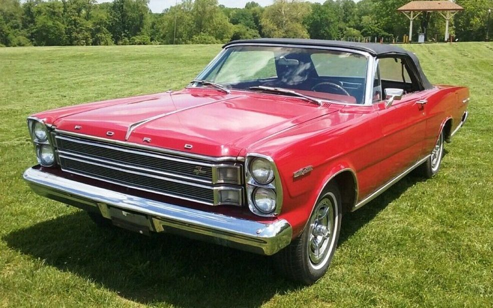 How Much To Rebuild A Transmission >> 7 Litre Four Speed! 1966 Galaxie 500 Convertible