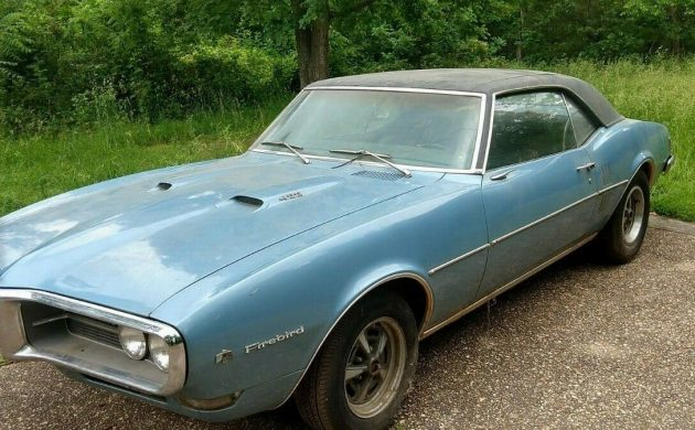 located in bentonville, arkansas, it is listed for sale here on ebay   bidding has now reached $6,400, and with the reserve now having been met,  the firebird