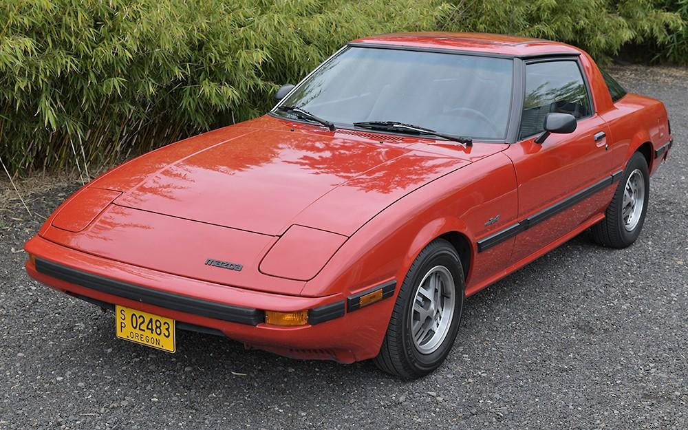 Cars For Sale Portland Oregon >> Japanese Classic: 1985 Mazda RX-7 GSL