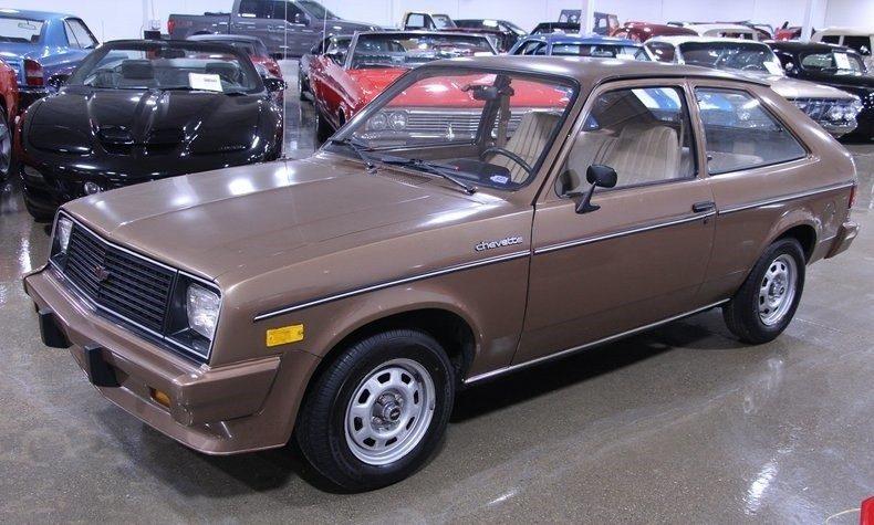 Used Car Auctions >> 43k-Mile Survivor: 1987 Chevrolet Chevette CS