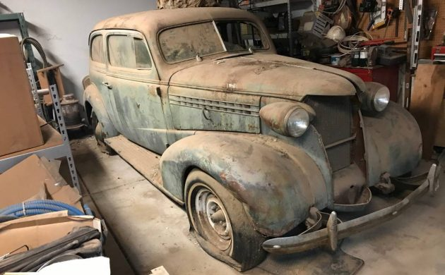 Passing Project: 1938 Chevrolet Master Deluxe