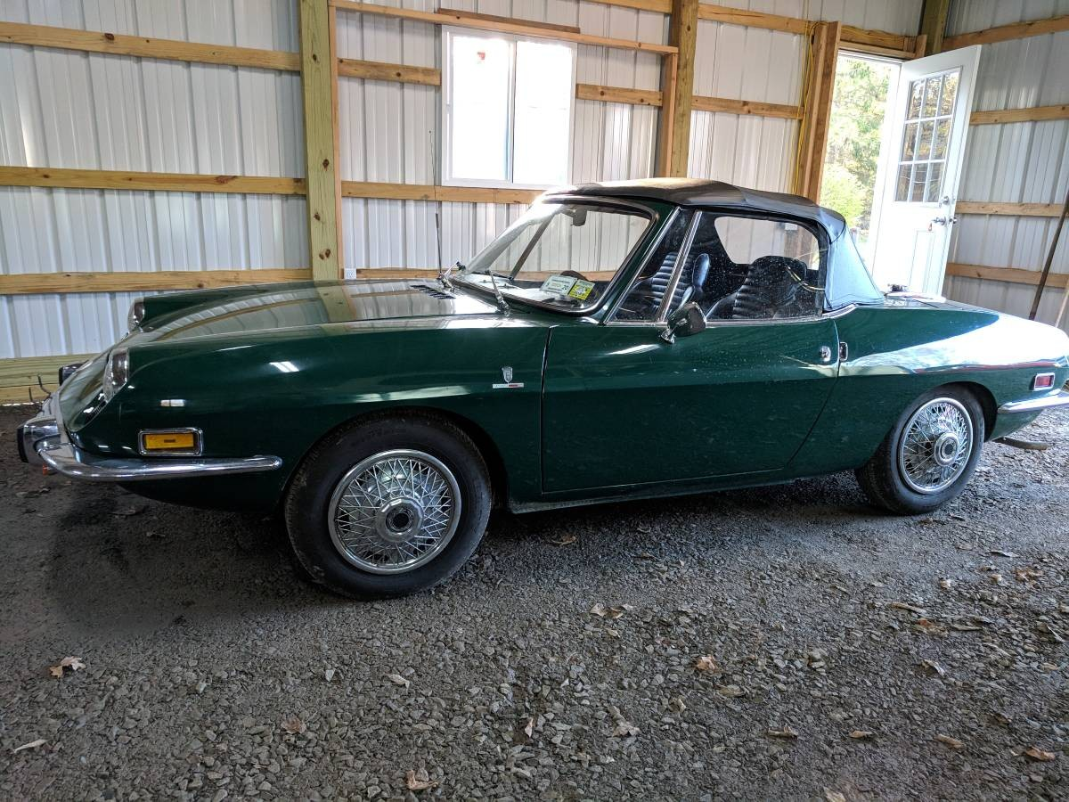 Rarely Reliable 1971 Fiat 850 Sport Spider