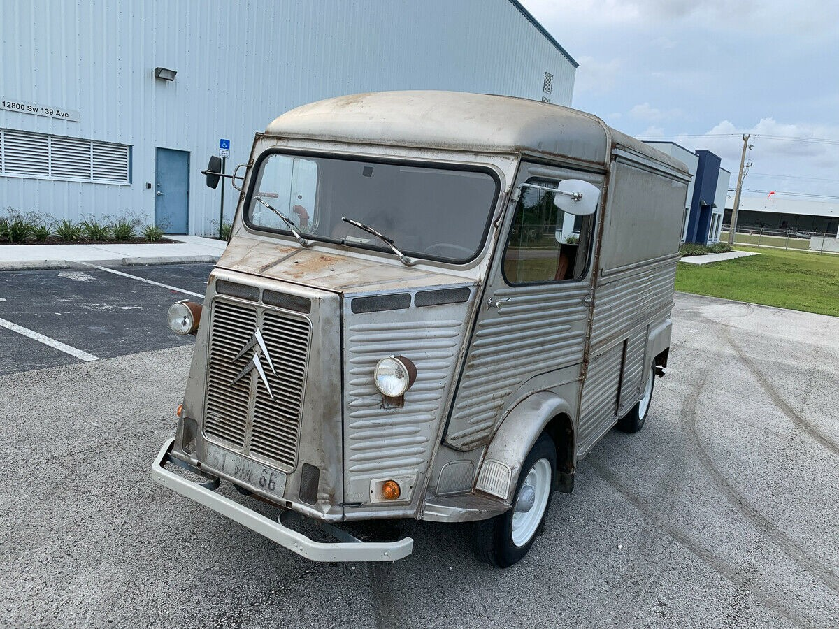Your New Food Truck 1973 Citroen Hy Van