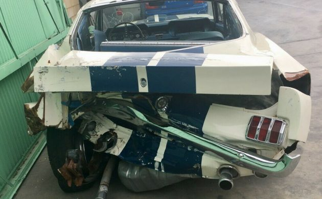 Crashed Legend: 1966 Mustang Shelby GT350