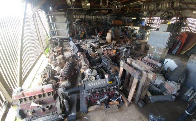 Barn Find Bonanza: Volvo Parts Collection