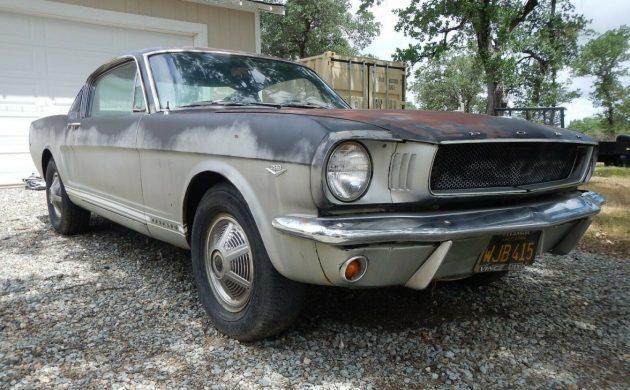 Black Plate Bargain: 1965 Mustang GT Fastback
