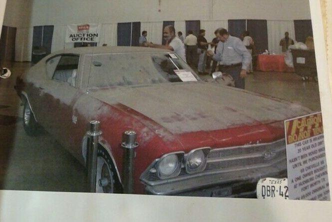 Vintage Car Wash Dallas: All Original: 1969 Chevrolet Chevelle SS 396