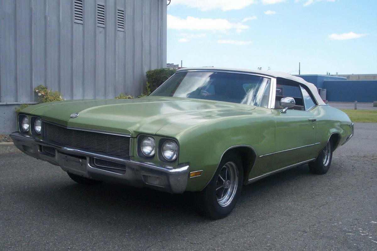 Parked For 28 Years: 1972 Buick Skylark Convertible