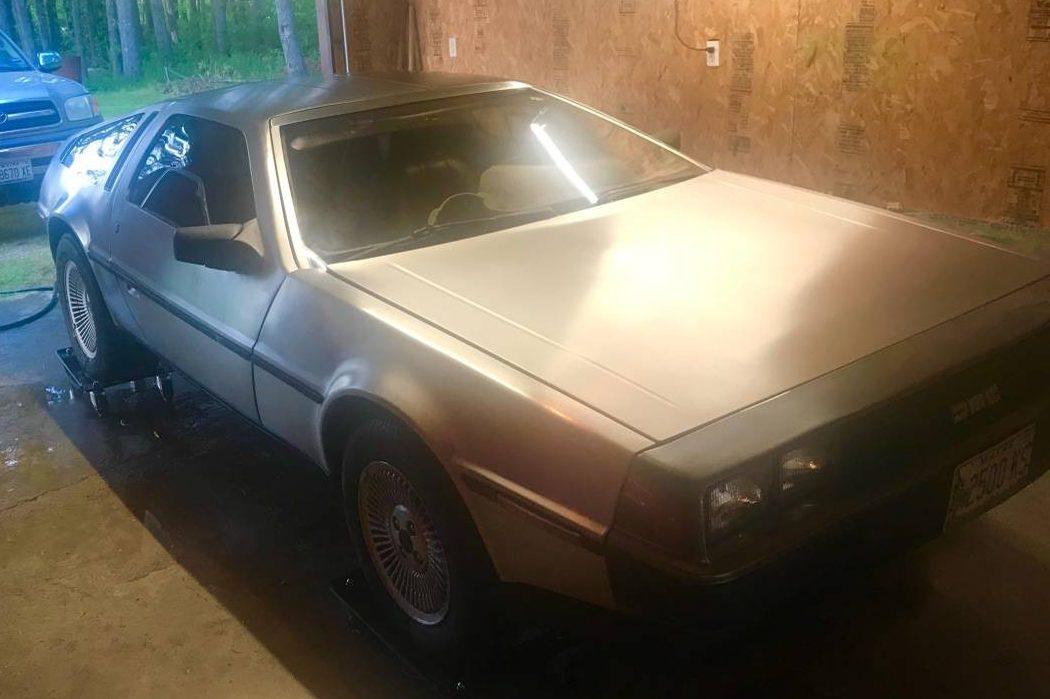 7k Original Miles: 1981 DeLorean