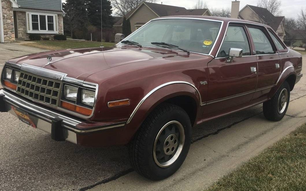 How Much Does It Cost To Paint A Car >> Low-Mile 1984 AMC Eagle 4x4