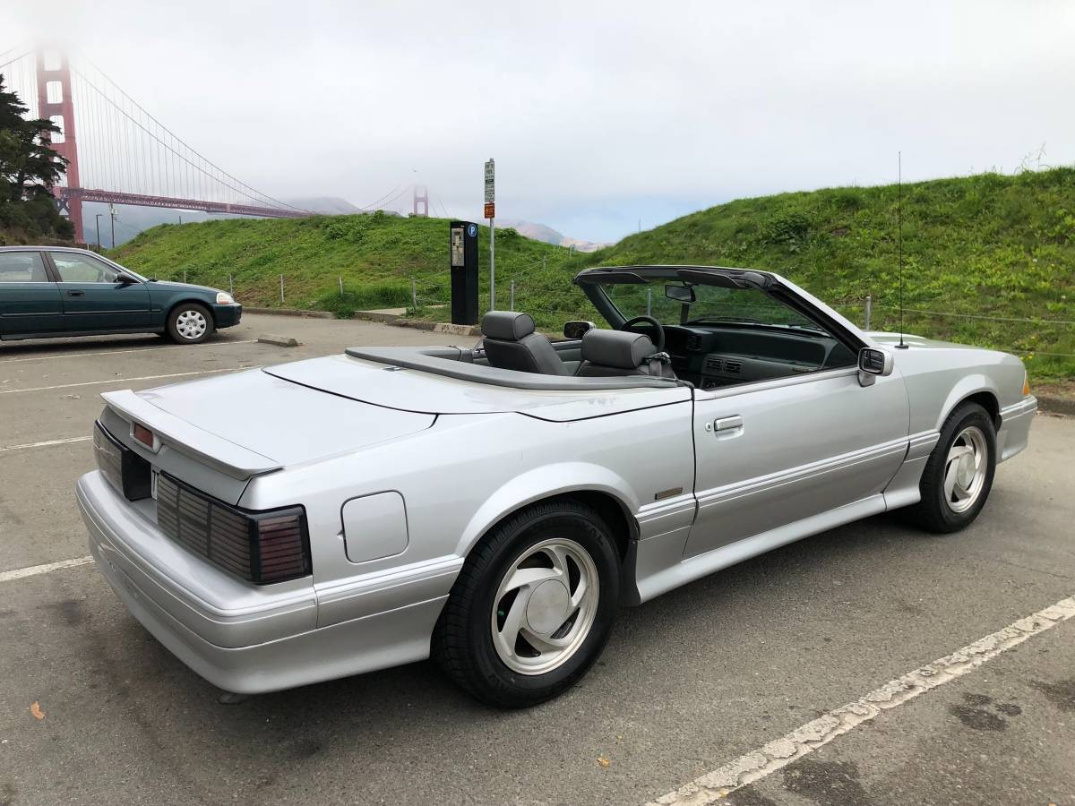 One owner 1989 ford mustang asc mclaren