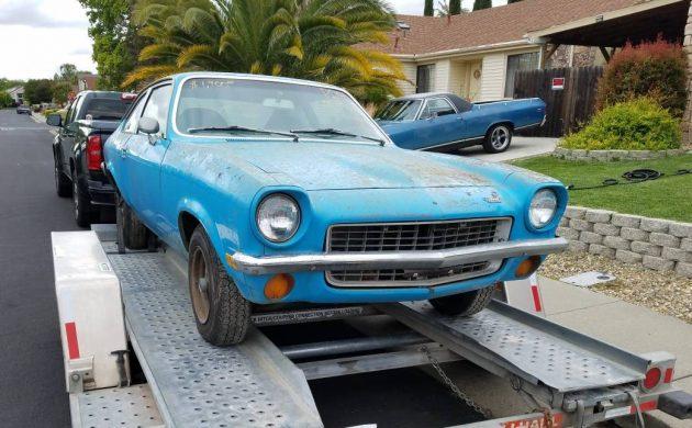 Salvage Yard Find 1971 Chevrolet Vega