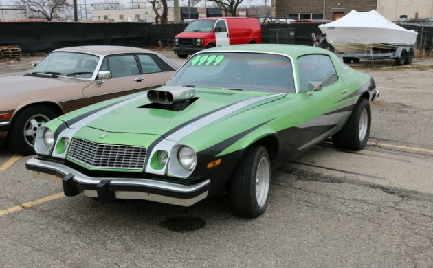 Steal this Dragster: 1976 Chevy Camaro