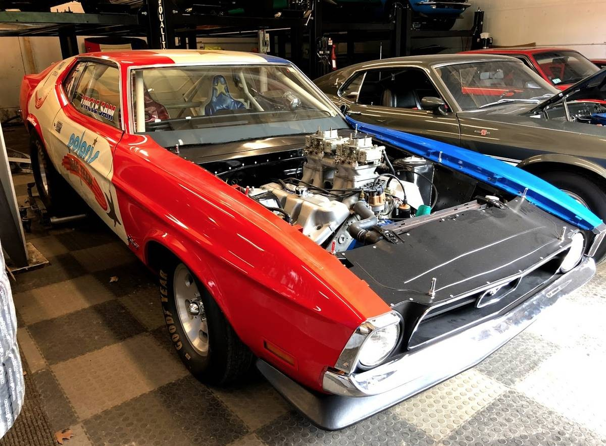 1969 Ford Mustang Boss 429 >> Team Polaris Drag Car: 1971 Ford Mustang Boss 429