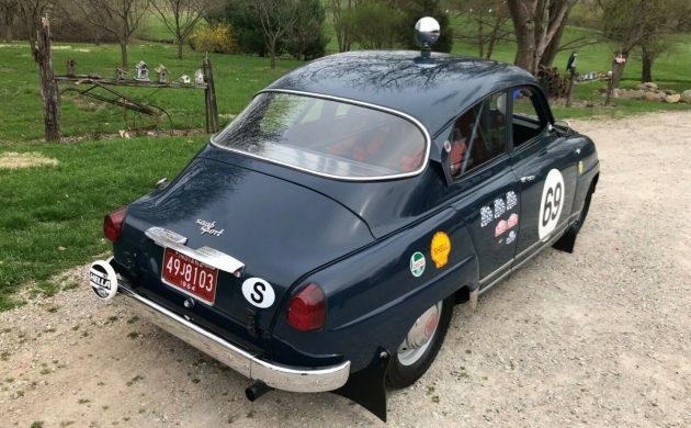 1964 Saab 96 Rally
