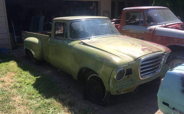 1961 and 1962 Studebaker Champ Trucks