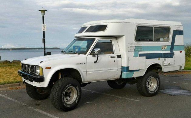 Offroad Camper: 1979 Toyota Chinook 4x4