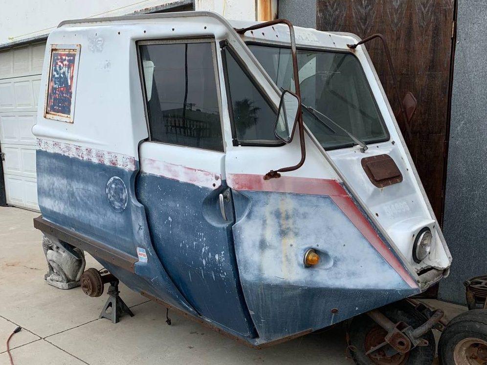 Wild Mail Truck: 1965 TAPCO Pony Express