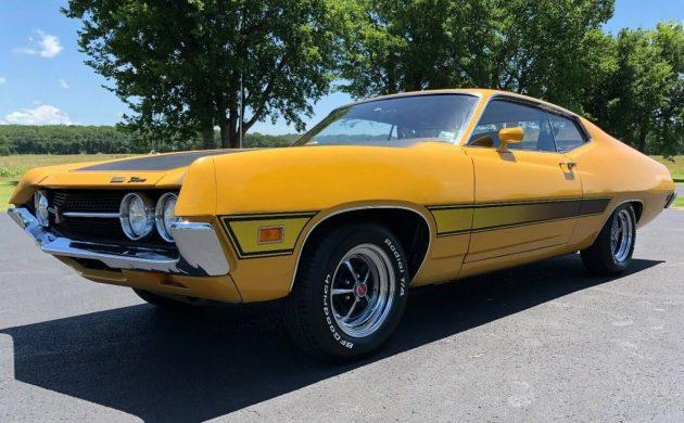 48k Original Miles: 1971 Ford Torino Cobra