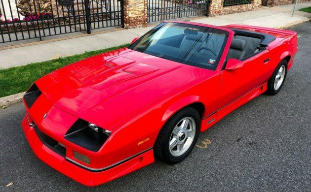 No Reserve 1991 Chevrolet Camaro Z28 Convertible
