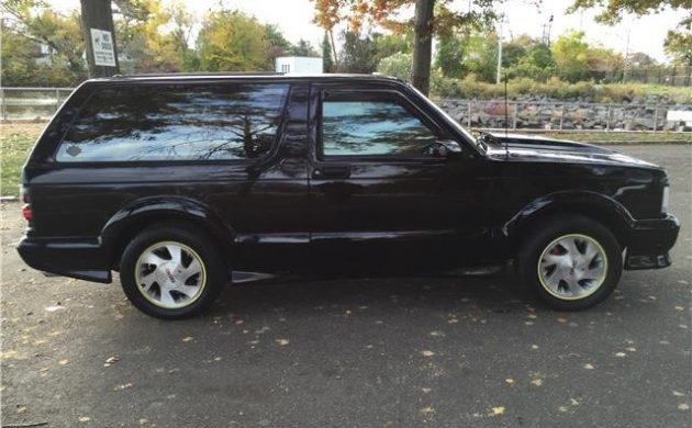 High-Performance SUV: 1993 GMC Typhoon