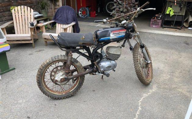 EXCLUSIVE: Rare 1970 Harley Davidson Baja 100