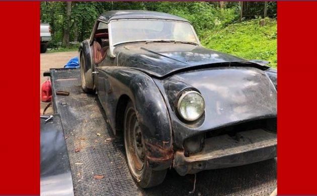 True Shed Find: 1960 Triumph TR3A