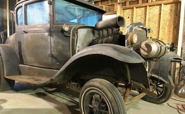 Vintage Blown Five-Window! 1930 Ford Gasser